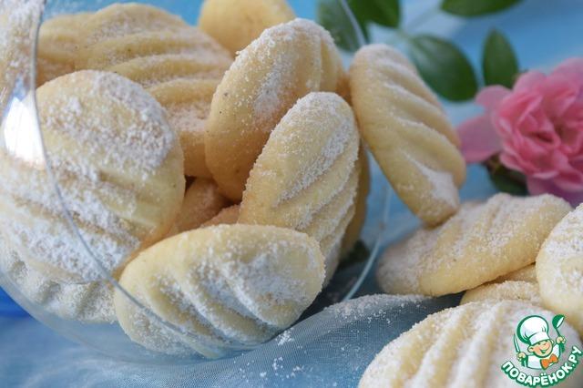 Очень нежные и рассыпчатые печеньки - ммммм... одно удовольствие!