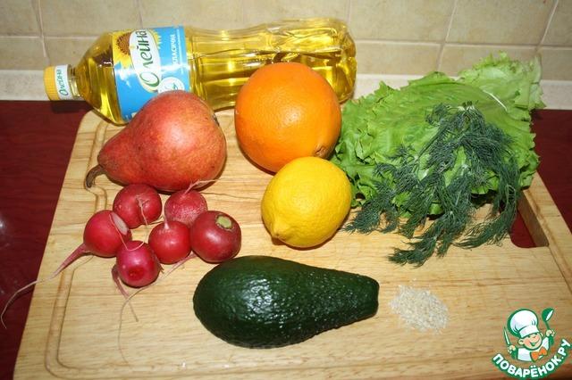 Вот ингредиенты для салата