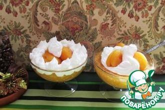 Десерт из кураги