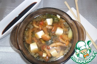 Мисо-суп с опятами
