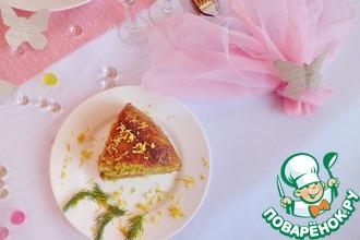 Бобово-мясной закусочный торт