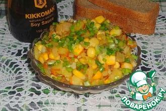 Рыбно-овощной салат