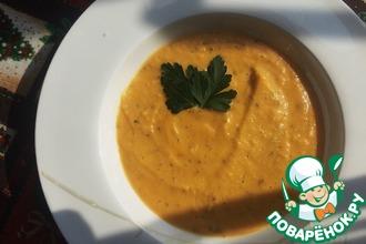 Итальянский крем-суп с тыквой