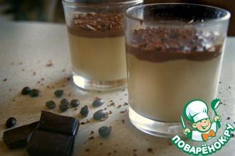 Кофейная Панна-котта с какао