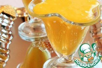 Апельсиново-миндальный десертный крем