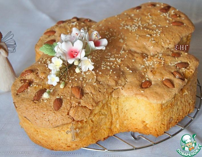 Итальянский пасхальный кекс