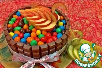 Мини-тортик из панкейков