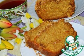 Деревенский кекс с корицей и лимоном
