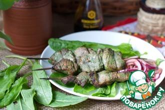 Шашлык из свинины в щавелево-соевом маринаде