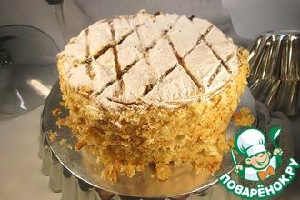 """Традиционный торт """"Наполеон"""" в английском стиле"""