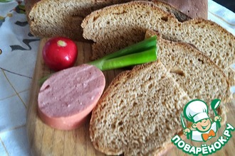 Хлеб ржано-пшеничный на пахте