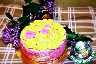 """Бисквитный торт """"Для принцесс"""""""
