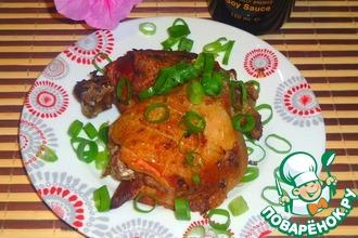 Бедра куриные в чесночно-имбирном маринаде