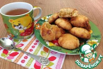 Печенье с ананасовым джемом
