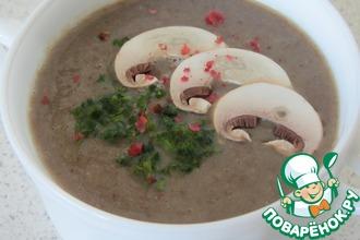 Чечевично-грибной суп