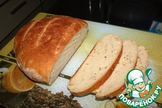 Горчичный хлеб в духовке