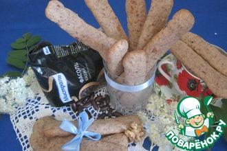 Печенье из фасоли и грецких орехов