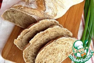 """Хлеб """"Чайный"""" с овсяными хлопьями"""
