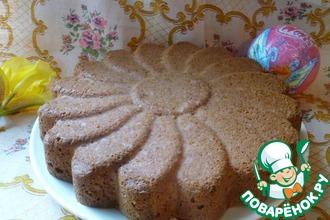 Бисквитный пирог на белках