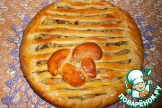 """Пирог """"Грибная поляна"""