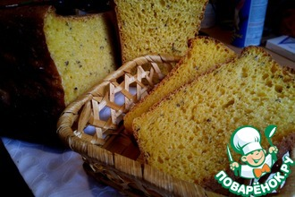 "Тыквенный хлеб на закваске ""Янтарный"""