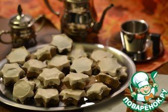 Ореховое печенье с корицей и гвоздикой