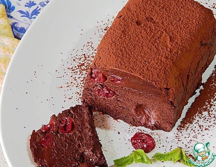 Шоколадная помадка от Франсиса Глотона