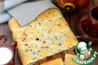 Закусочный пирог с уткой и паприкой