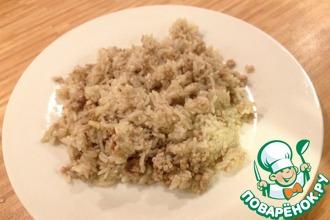 Рис с фаршем по-восточному