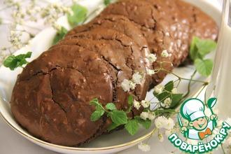 """Шоколадное печенье """"Ореховый фуджи"""""""