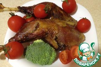 Медово-соевый маринад для куриного мяса
