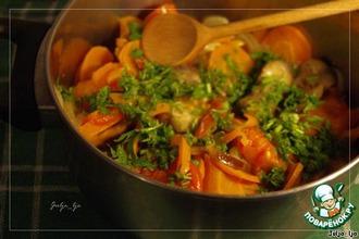 Тушеные овощи в собственном соку