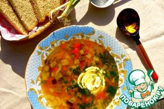 Баклажановый суп