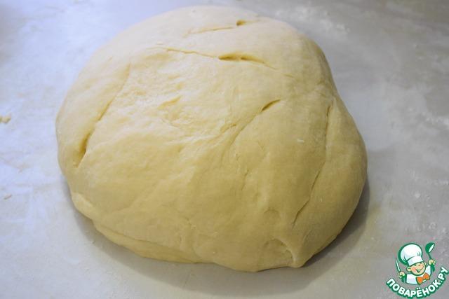 Замесить мягкое, пластичное тесто (оно немного будет липковато, но муки больше не добавляйте) иначе пряники будут очень жесткими. Вот такое тесто должно получиться. Чашку закрываем пленкой или пакетом и на 1 час убираем в холодильник.