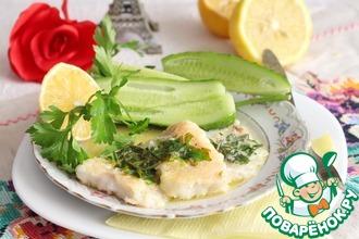 Рыба под сливочно-лимонным соусом