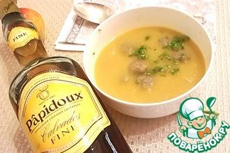 """Овощной суп """"Потаж о легюм"""" по-нормандски"""