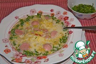 Суп из лука-порея с картофелем
