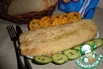 Горохово-картофельный рулет с мясом