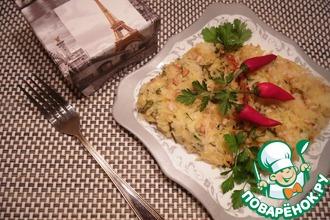 Картофель с кедровыми орешками