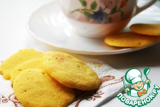 Кукурузное печенье за 2 минуты