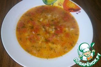 """Суп из томатов """"Осенний"""""""