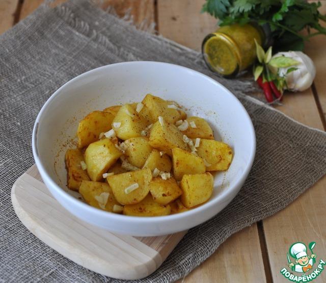 Подаём картофель горячим, как самостоятельное блюдо или гарнир.   Приятного аппетита!