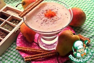 Смузи на йогурте из груши и моркови