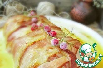 Картофельный мильфей с беконом