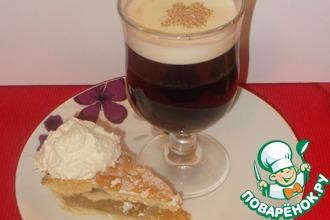 Ирландский яблочный пирог и ирландский кофе