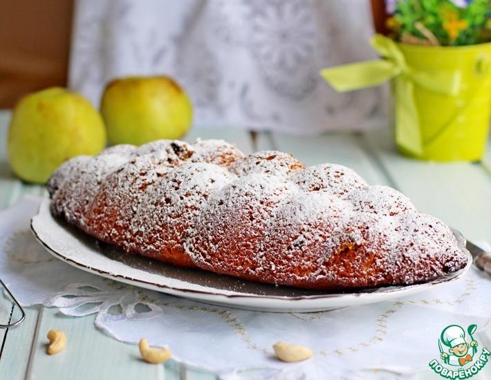 Кекс на яблочном пюре
