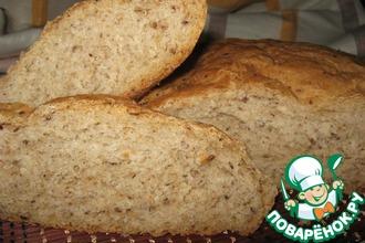 Круглый домашний хлеб