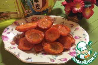 Запеченная остро-сладкая морковь