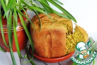 """Хлеб """"Солнечный"""" с зеленью"""