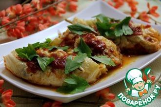 Вегетарианские голубцы с тофу